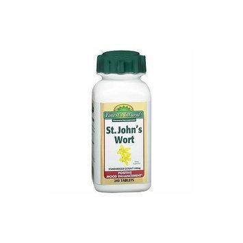 Finest Natural St. John's Wort 300mg Tablets, 240 ea