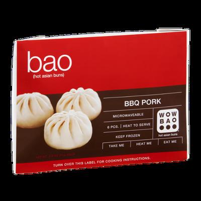 Wow Bao Hot Asian Buns BBQ Pork