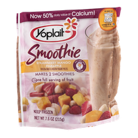 Yoplait® Original Strawberry Smoothie Strawberry Mango Pineapple