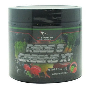 AI Sports Nutrition Reds & Greens XT Strawberry Kiwi - 180 Grams