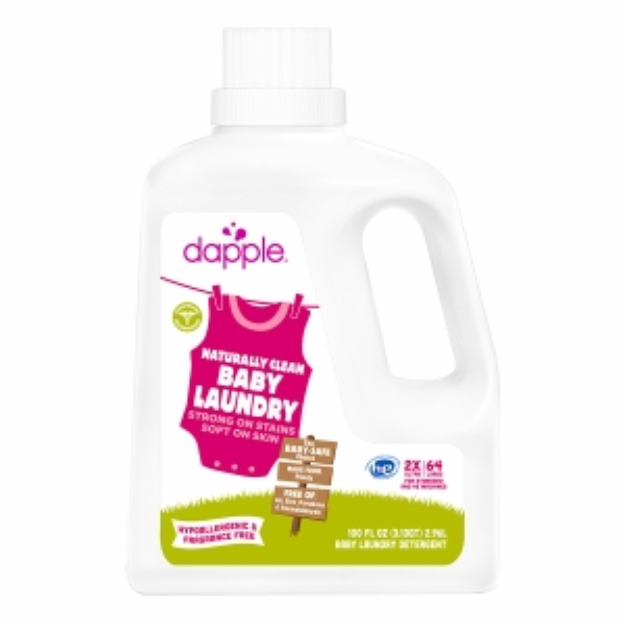 dapple Baby Laundry Detergent, 64 Loads, Fragrance Free, 100 oz