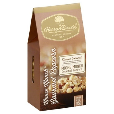 Harry & David 4 oz. Caramel Moose Munch Gourmet Popcorn Case Of 6