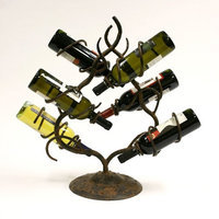 Creative Creations Bowery 6-Bottle Wine Rack Stand - A125-6W