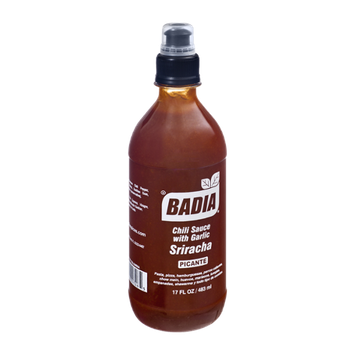Badia Hot Sriracha Chili Sauce with Garlic