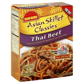 Sunbird Asian Skillet Classics Thai Beef, 5.82-Ounce (Pack of 6)