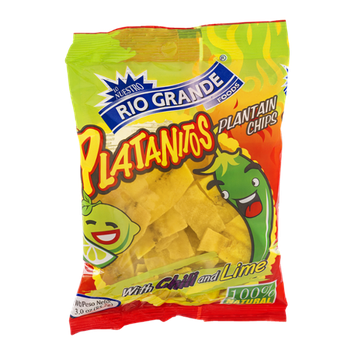 Rio Grande Platanitos Plantain Chips with Chili and Lime