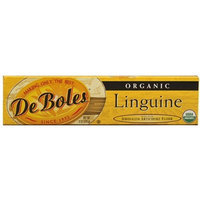 DeBoles Organic Linguine Pasta, 8 Ounce (Pack of 12)