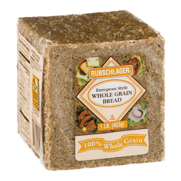Rubschlager Whole Grain Bread European Style