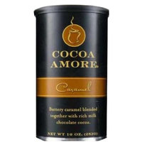 Cocoa Amore Caramel, 10-Ounce (Pack of 3)