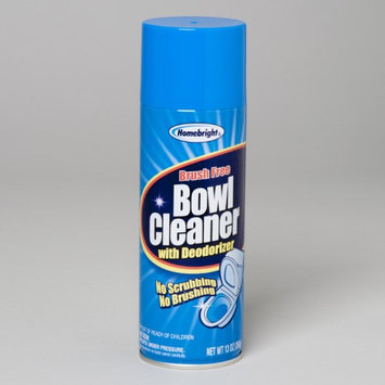 Dollar Item Direct Toilet Bowl Cleaner 13 Oz Brush Free Home Bright, Case of 12