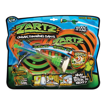 Zing Toys Zartz Urban Throwing Darts Fun Pack