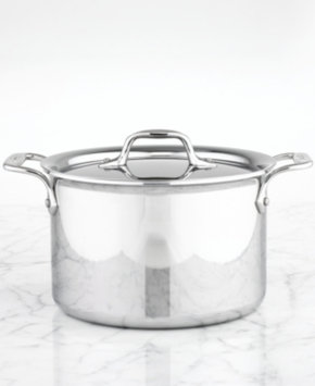 All Clad All-Clad Stainless Steel 4.5 Qt. Covered Soup Pot