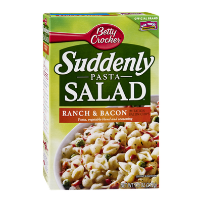 Betty Crocker Suddenly Pasta Salad Ranch & Bacon