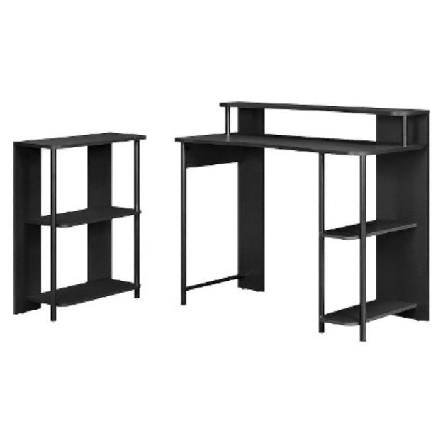 Computer Desk: Ameriwood Computer Desk - Black