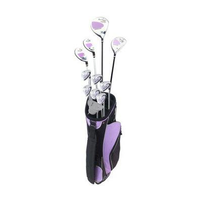 Letex Enterprises Ladies Tour Logic Golf Clubs and Cart Bag - 18 Pc