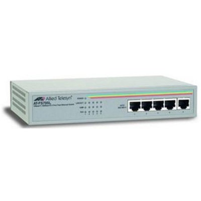 Allied Telesis AT-FS705L Ethernet Switch - 5 x 10/100Base-TX