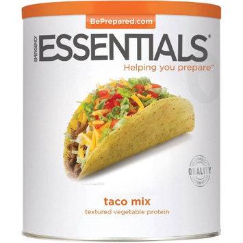 Emergency Essentials Food Taco Mix Textured Vegetable Protein, 59 oz