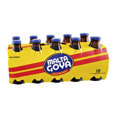 Malta Goya Malt Non-Alcoholic Beverage - 10 PK