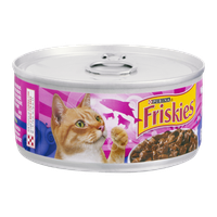 Purina Friskies Prime Filets with Salmon & Beef in Sauce Cat Food