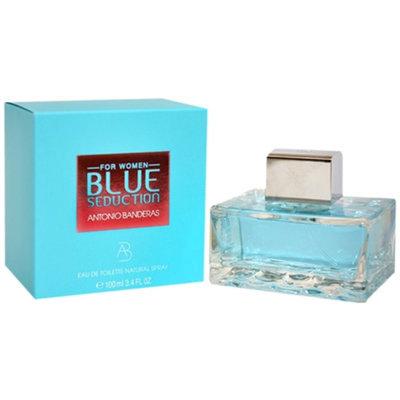 Antonio Banderas Blue Seduction Eau De Toilette Spray