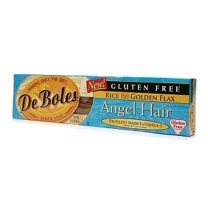 DeBoles Rice and Golden Flax Angel Hair Pasta