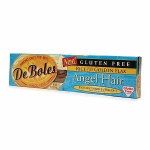 DeBoles Rice and Golden Flax Angel Hair Pasta
