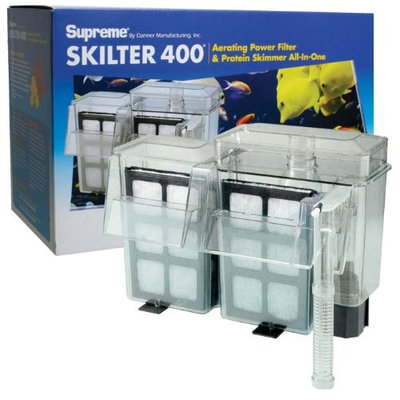 Supreme (Danner) ASP01033 Skilter 400 Power Filter for Aquarium