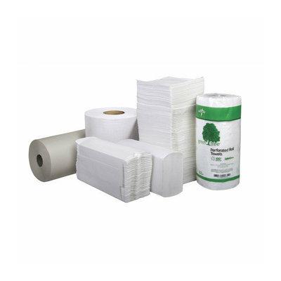Medline Green Tree Basics Multifold Standard Towel Paper in White