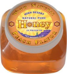 Honey with Peach CC Pollen 5.97 Liquid