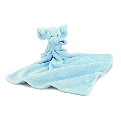 Jelly Cat Jellycat Bashful Elly Soother Blue