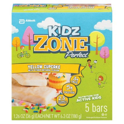 ZonePerfect Kidz Yellow Cupcake Nutrition Bars - 5 Count
