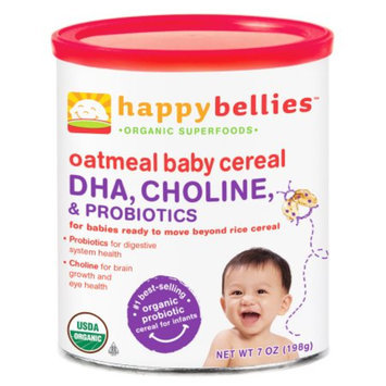 Happy Bellies Organic Super Cereals DHA