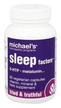 Michaels Naturopathic Programs Michael's Naturopathic Programs - Sleep Factors - 60 Vegetarian Capsules