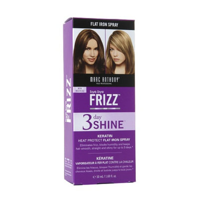 Marc Anthony True Professional Bye Bye Frizz 3 Day Shine Keratin Flat Iron Spray