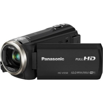 Panasonic HC-V550K HD Wi-Fi Video Camera Camcorder