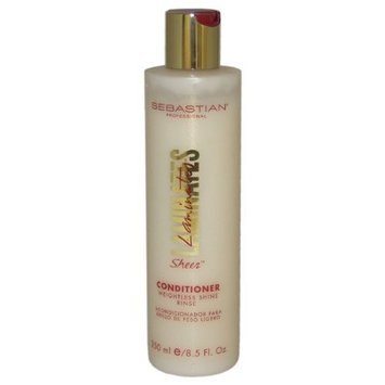 Sebastian Laminates Sheer Conditioner, Weightless Shine, 8.5 Ounce