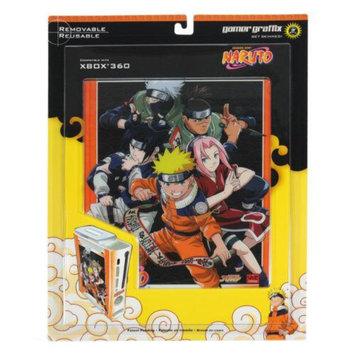 Xbox 360 Gamer Graffix Skin Shonen Jump Naruto Reusable