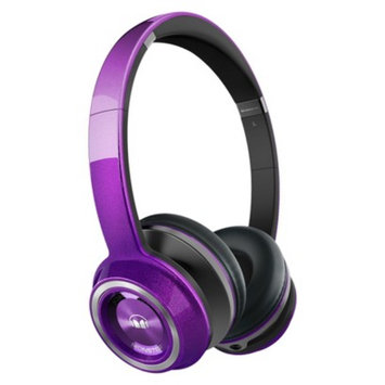 Monster Cable Sound Machine by Monster On-Ear Headphones - Purple