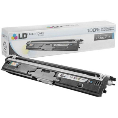 LD Compatible Replacement for Konica Minolta A0V301F High Yield Black Laser Toner Cartridge for use in Konica Minolta MagiColor 1600W, 1650EN, 1680MF, and 1690MF Printers