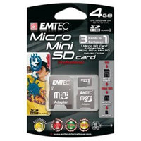 Emtec 4GB Micro Secure Digital (SD) Card - 60x