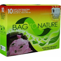 Indaco Manufacturing BTN3339R Bag-To-Nature Compositable Lawn And Yard Bag