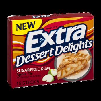 Extra Dessert Delights Sugar Free Apple Pie Gum