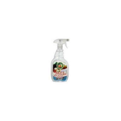 Earth Friendly Products 97356 Fruit & Vegetable Wash 22 oz - Case of 6