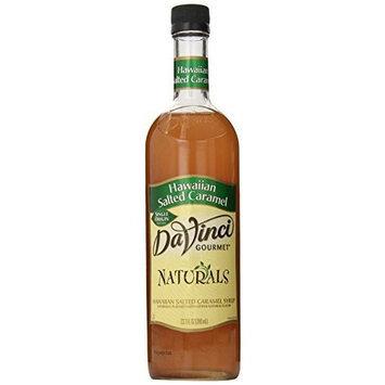 DaVinci Gourmet Naturals Syrup, Hawaiian Salted Caramel, 23.67 Ounce