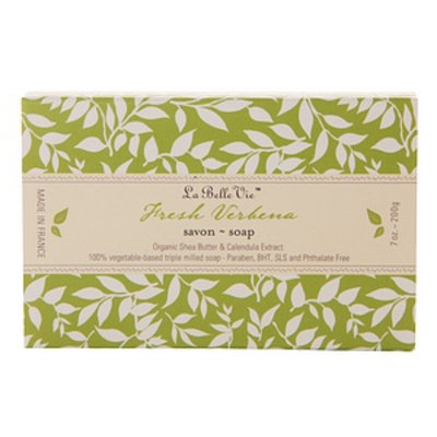 La Belle Vie Verbena Triple Milled Soap