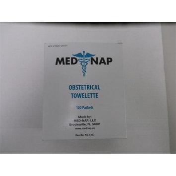 Med-Nap 3302 Obstetrical Antiseptic 100 Towelette