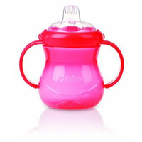Nuby 2 Handle Cup With Soft Spout, 10 Ounce, Colors May Vary