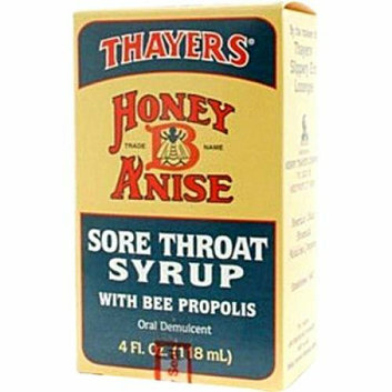 Thayers Honey-B-Anise Sore Throat Syrup 5 fl oz