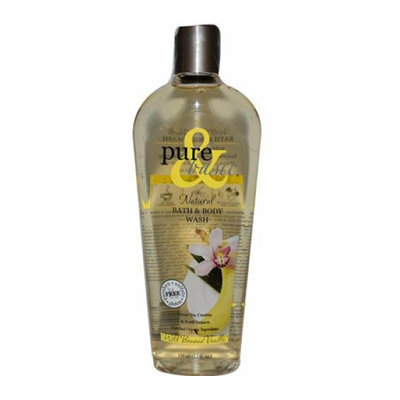 Pure and Basic Natural Bath and Body Wash Wild Banana Vanilla 12 fl oz