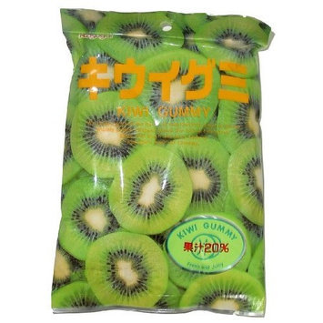 Kasugai Japanese Fruit Gummy Candy Kiwi